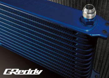 TRUST GReddy Oil Cooler Core (HG1208G - 12 Row - #8)